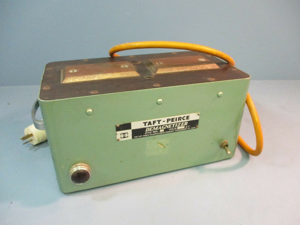 Taft-Perice Demagnetizer Style 9801-1 Volts 110 A.C. Used