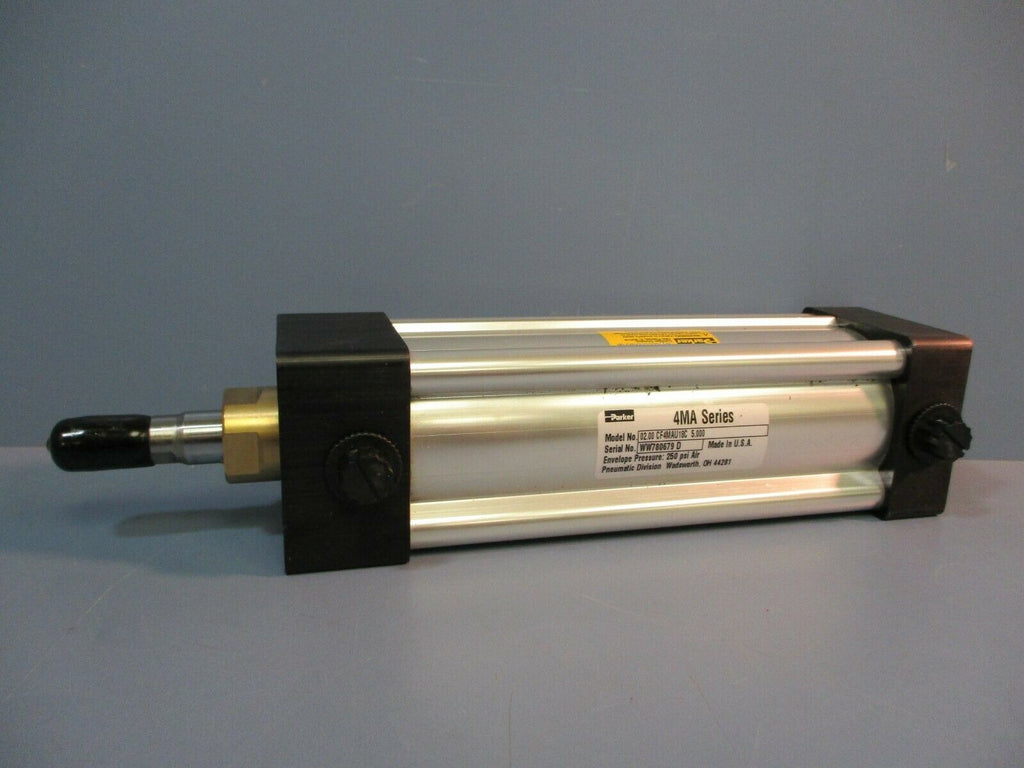Parker Pneumatic Air Cylinder 02.00 CF4MAU18C 5.000 250 PSI NEW