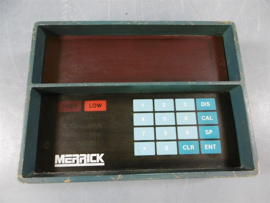 Used Merrick Controller Panel Display 19602