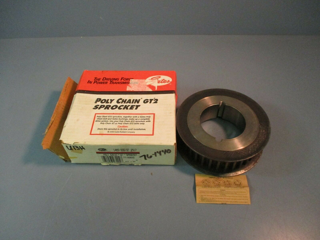 Gates Poly Chain GT Sprocket 14MX-33S-37 NEW IN BOX