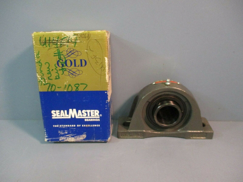 "Sealmaster Pillow Block Housed Unit Bearing NPD-23 1-7/16"" NEW"