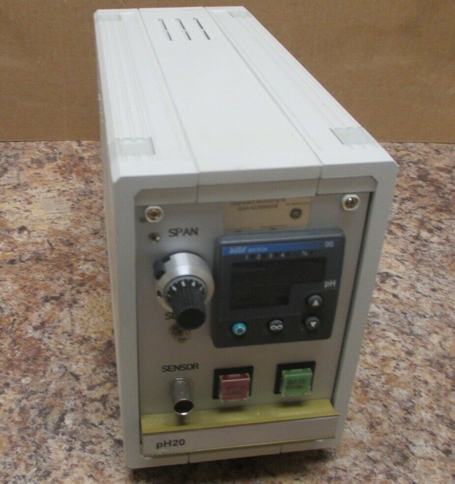 GE Wave Biotech pH 20 Controller Revision C Used
