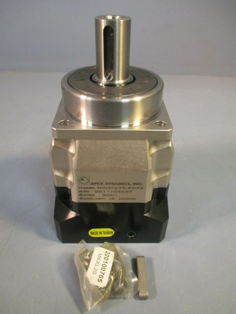 APEX DYNAMICS GEAR REDUCER RATIO 004:1 AF075-004-S2-P2