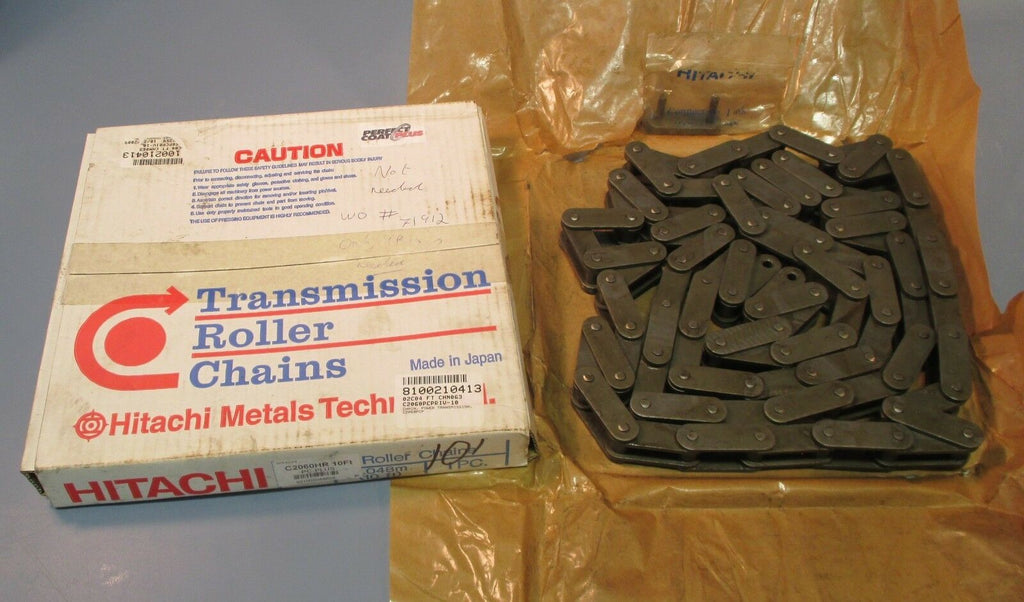 Hitachi PC-Plus C2060HR 10FT Roller Chain NIB