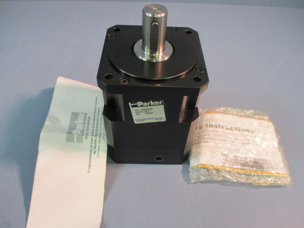 New Parker PG90-020 Gearhead 20:1 20mm Shaft Precision Reducer