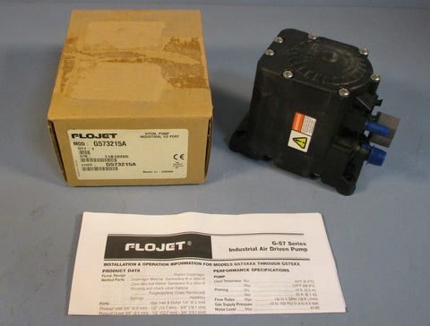 "Flojet G573215 Viton 1/2"" Port Industrial Pump G573215A G57 Series NIB"