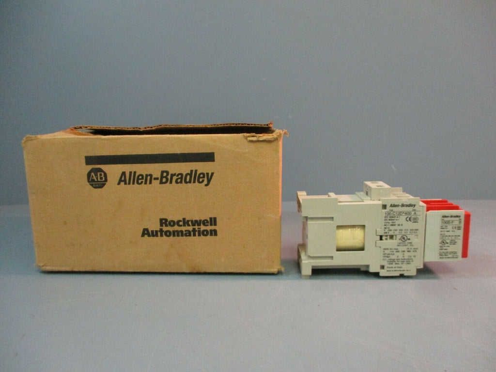 Allen-Bradley Safety Contactor 100S-C12DJ404C Ser. A 4pole 24VDC 7.5HP NEW