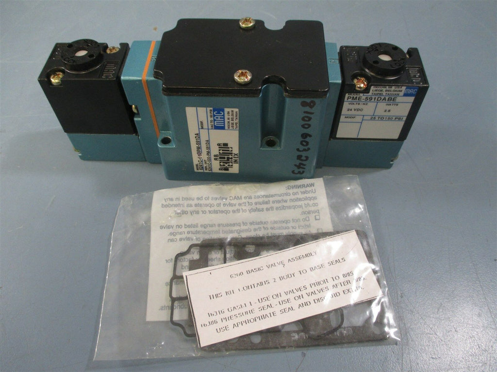 Mac 6241C-000-PM-591DA Solenoid Valve - New