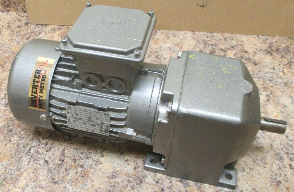 Nord SK 172-71S/4CUS Gear Motor 0.33 HP, 1710 RPM, 3 Ph 4.71:1 Ratio 353 RPM Out