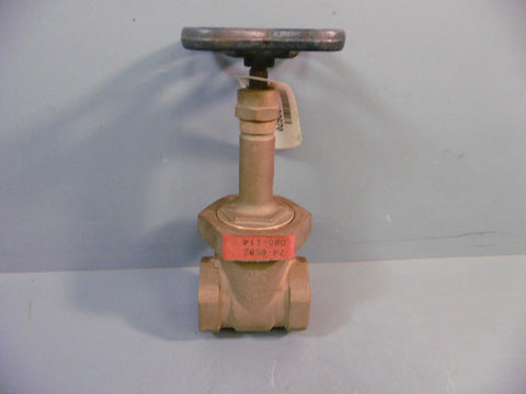 Nibco Gate Valve T-134 1-1/2 Threaded Bronze Body NEW