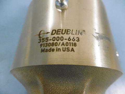 "1 New Deublin 355-000-663 Rotary Union 1"" Inch Brass"