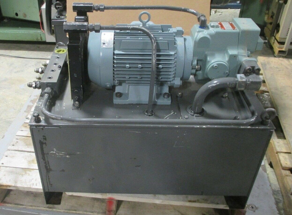 Racine G49ZZ005230 Hydraulic Power Unit 2.2 kW from Mazak Lathe Used