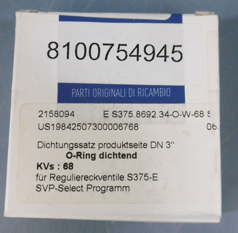 *NIB SEALED* Pentair Sudmo Seal Kit: 2158094, DN080 / 3.0""
