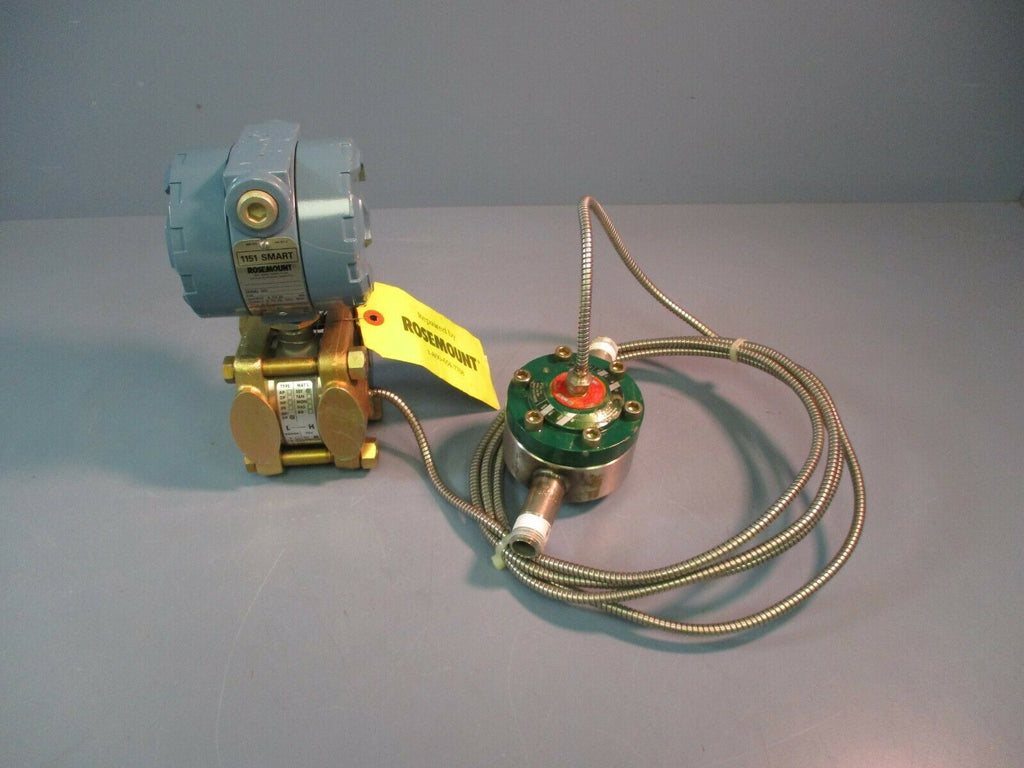 Rosemount Smart Gauge Pressure Transmitter 1151GP7S12S1B1 Refurbished