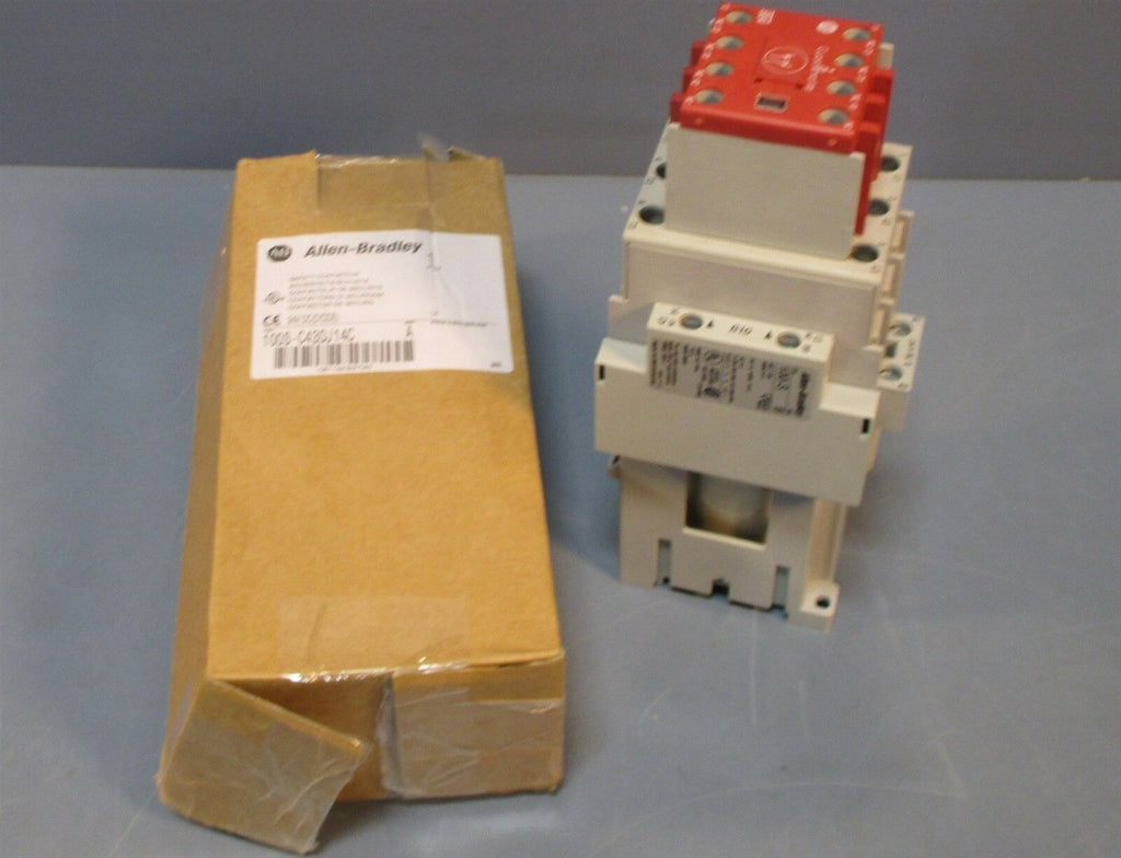 Allen Bradley 100S-C43DJ14C Series A Relay Safety Contactor 24 VDC New