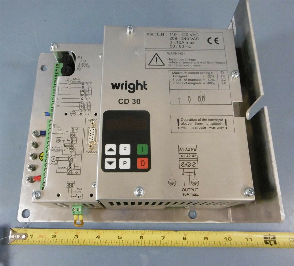 Wright CD30-1-14361H Variable Speed Drive 110-120 VAC