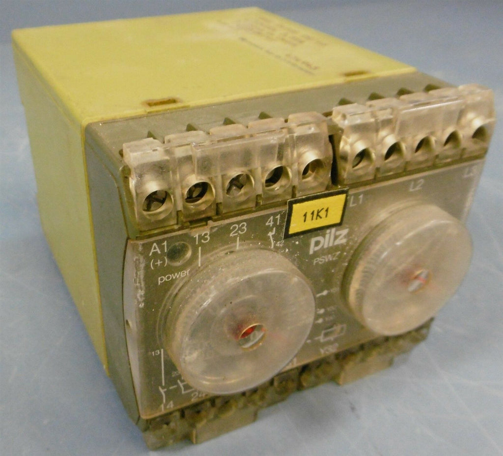 Pilz PSWZ/24VGS Safety Relay AC15: 250VWS 6A 1300VA 6AF/ 4AT Indent. Nr: 474945
