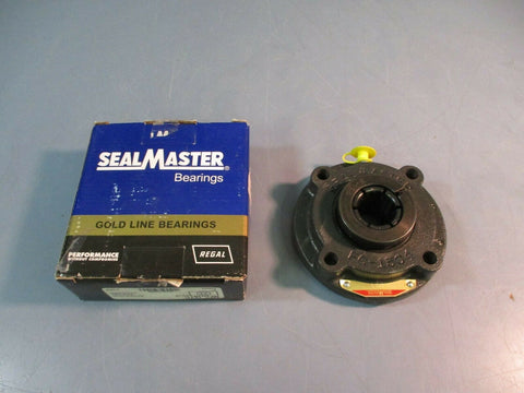 "SealMaster Flange Block Bearing MFC-16TC 1"" 4 Bolt NEW IN BOX"