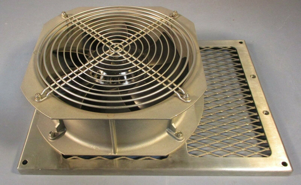"EBM W2E200-HH86-01 High Temp Axial Cooling Fan 115 Volt, 8"" Fan Dia, 64/80W Used"