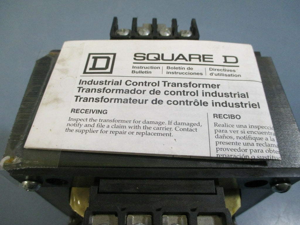 Square D Industrial Control Transformer .75 kva Cat# 9070T750D31
