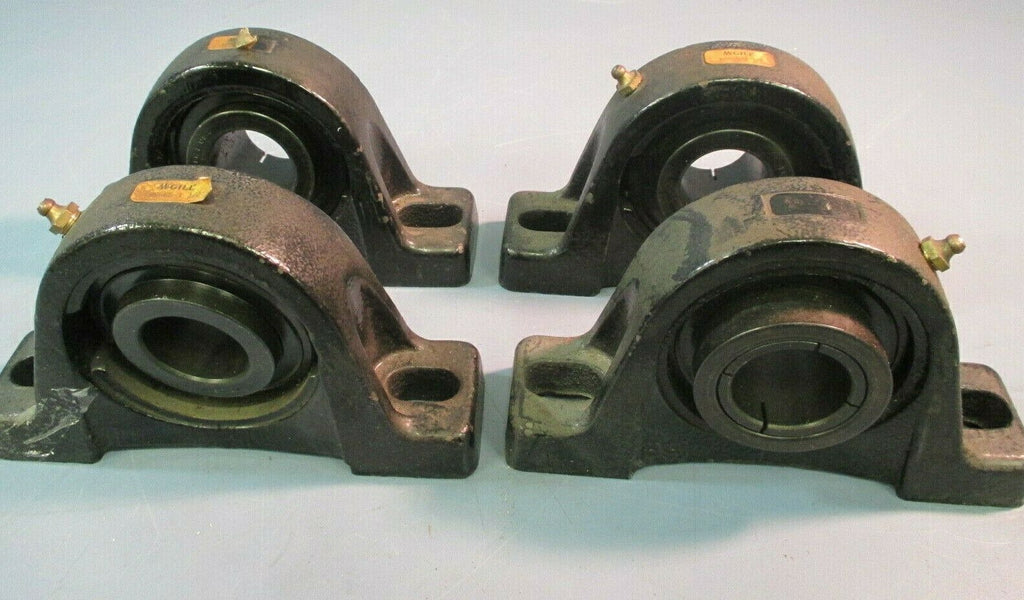 MCGILL BEARING PILLOW BLOCK 1-1/2 LOT OF FOUR KC-55-1 1/2