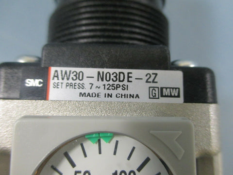 SMC AW30-N03DE-2Z Air Filter/Regulator - New