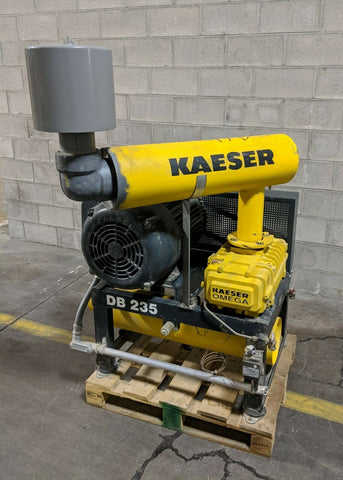 Kaeser Omega DB235 Positive Displacement Blower System PDB, 50 HP, DB 235