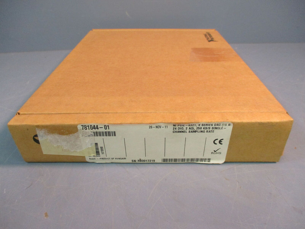 SEALED National Instruments PCIE-6321 781044-01 Multifunction I/O Card