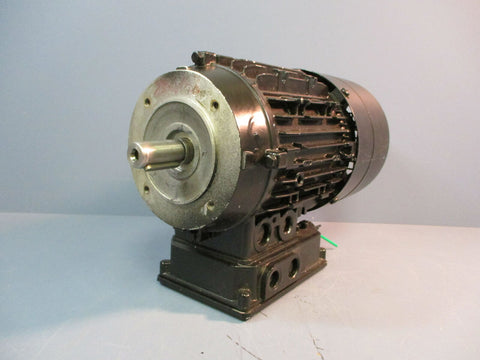Weiss Brake Motor 5.5AZHK 80V-4T B14P120 50/60 Hz Used