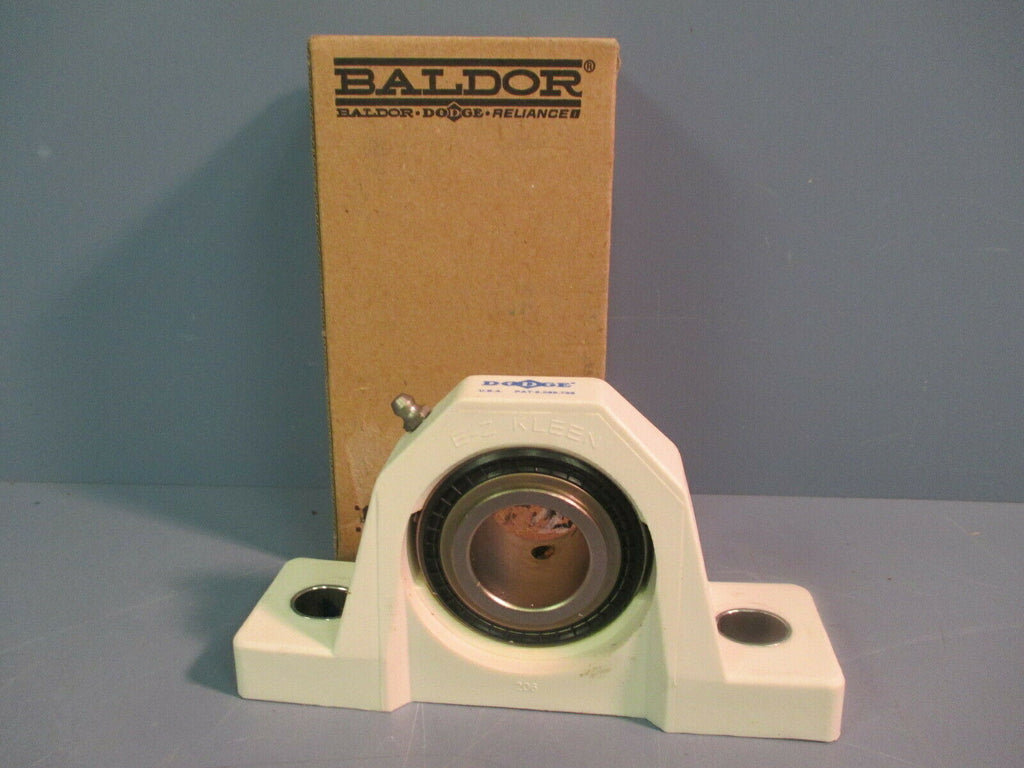 Dodge Pillow Block Ball Bearing Unit Two-Bolt Base P2B-SCUEZ-103-PCR