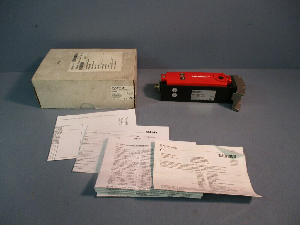 Euchner Safety Switch CET2-AX-LRA-00-50X-SA NEW IN BOX
