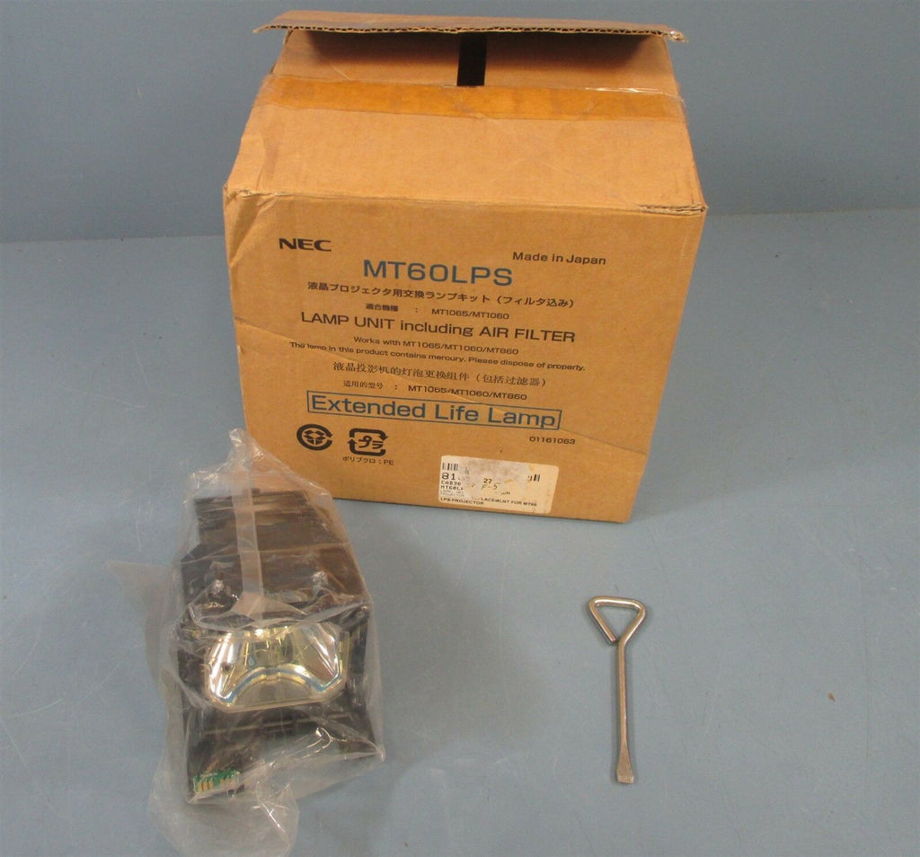 NEC MT60LPS Projector Lamp In Housing Unit NIB Lamp Only