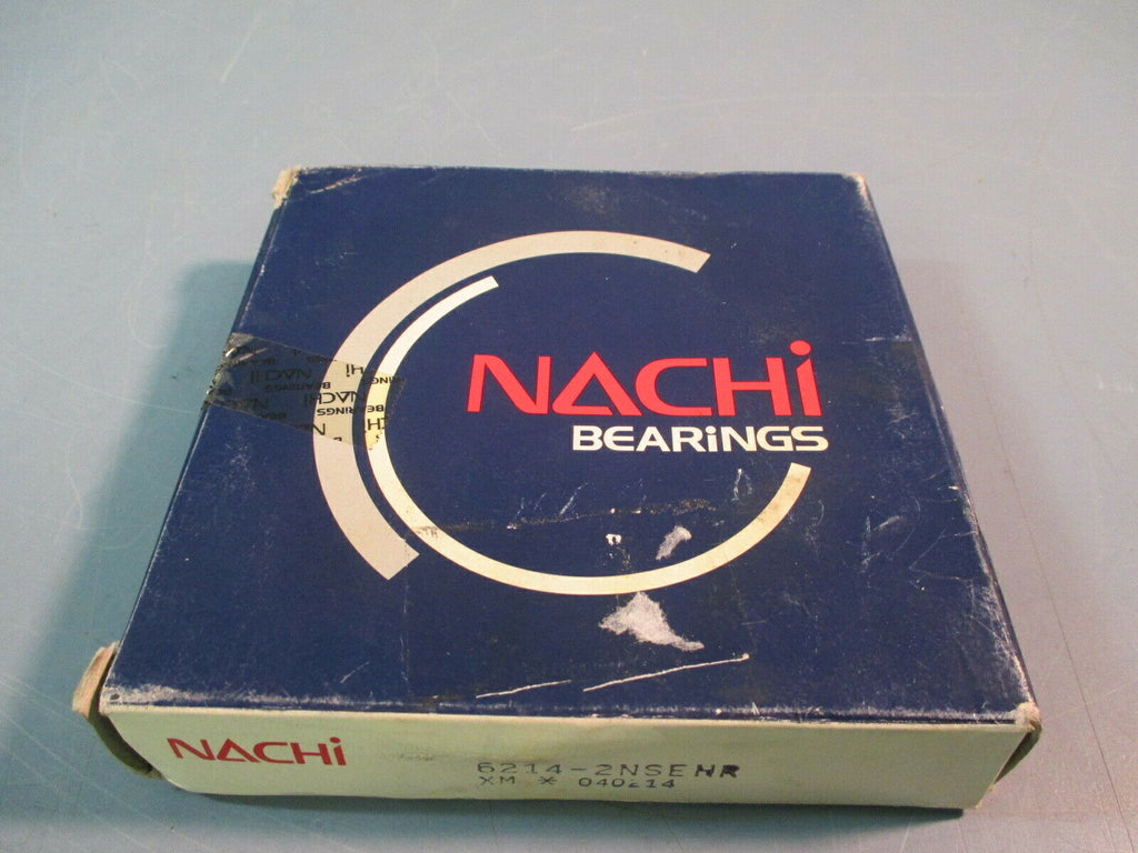 Nachi Bearing Sealed C3 Snap Ring 6214-2NSENR 70x125x24