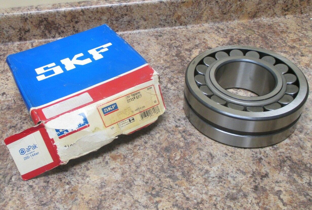 SKF Explorer 22319 E/C3 Spherical Roller Bearing 95mm Bore, 200 OD & 67 W NIB