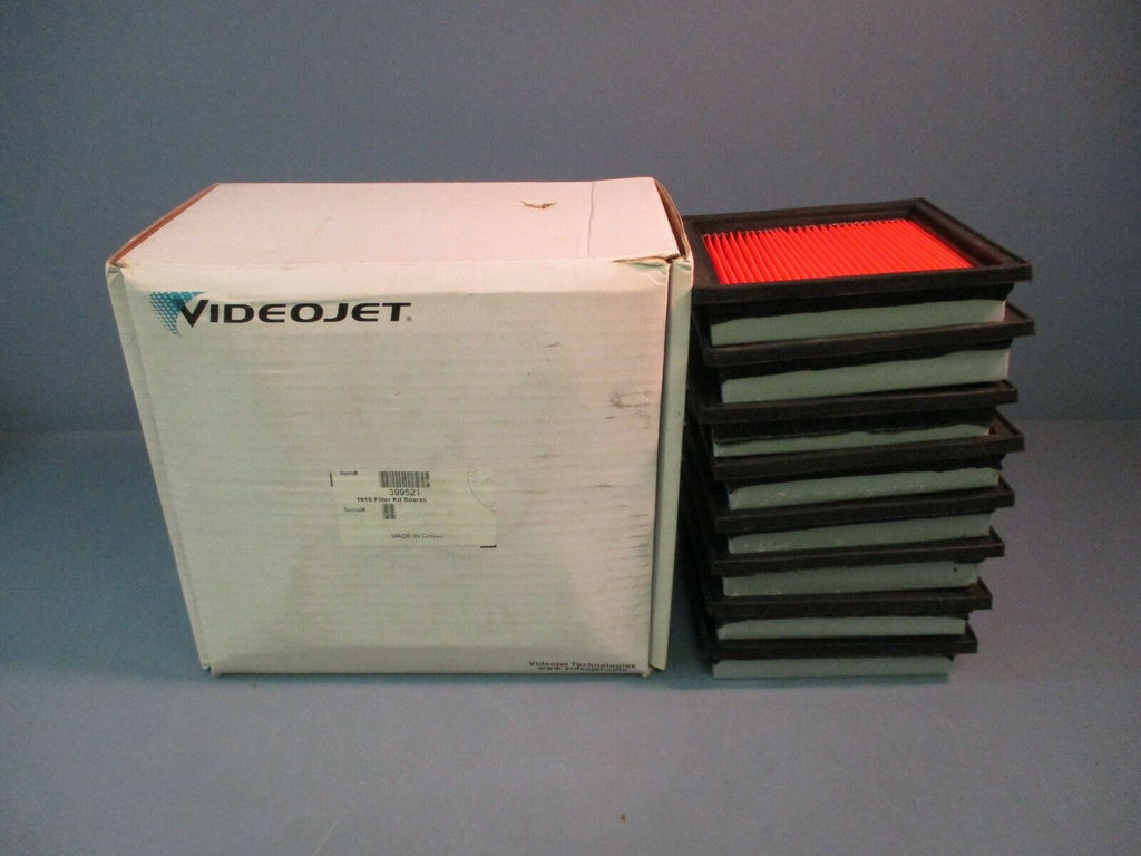 Videojet 1610/1710 Filter Kit Spares 399521 NEW BOX OF 8