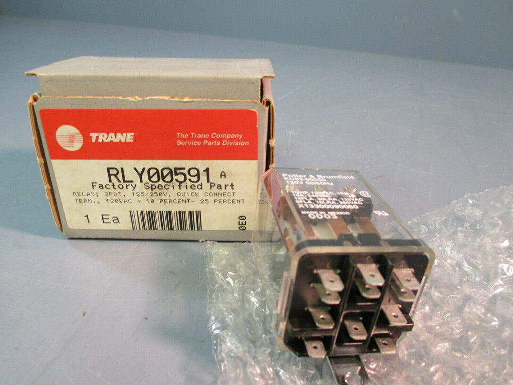 Trane Relay RLY0591, Potter & Brumfield KU93-90050
