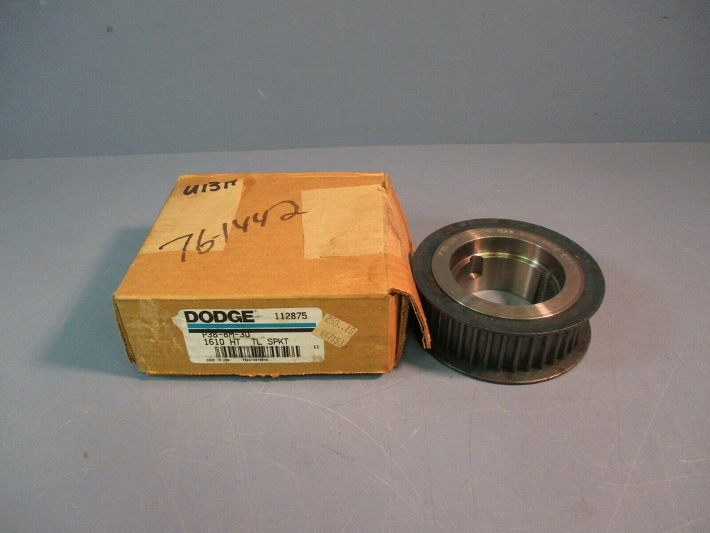 Dodge High Torque Taper Lock Sprocket P38-8M-30 1610 NEW Lot of 2