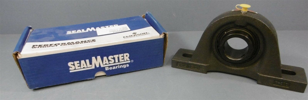 "SealMaster Pillow Block Bearing: SP-29 C, 1-13/16"" Dia Shaft, 2 Bolt"