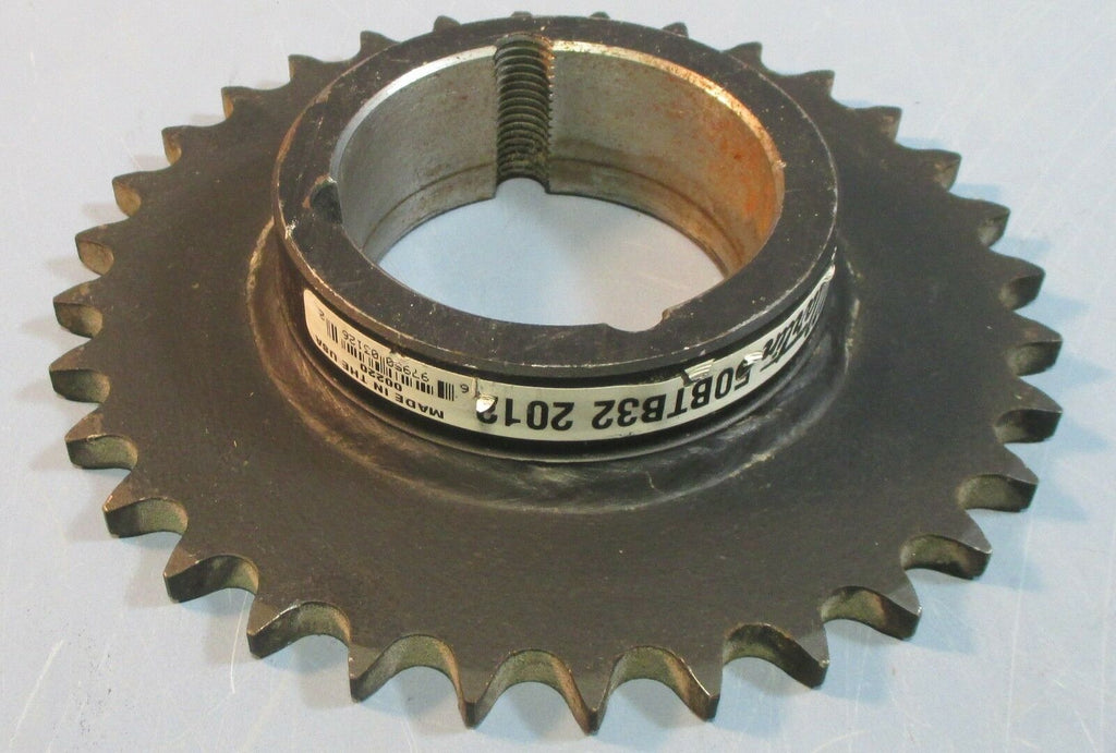 Martin 50BTB32 2012 Taper Lock Sprocket for #50 Chain w/ 32 Teeth NOS