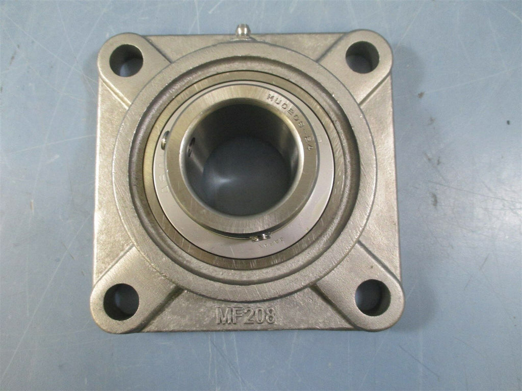 "AMI MUCF208-24 1-1/2"" Bore 4-Bolt Flange Bearing - New"