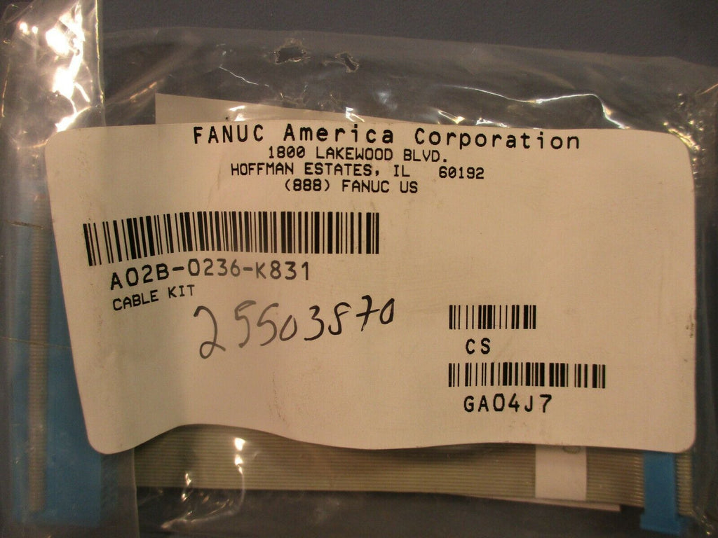 Fanuc Cable Kit A02B-0236-K831 Ribbon Cable Connector FACTORY SEALED