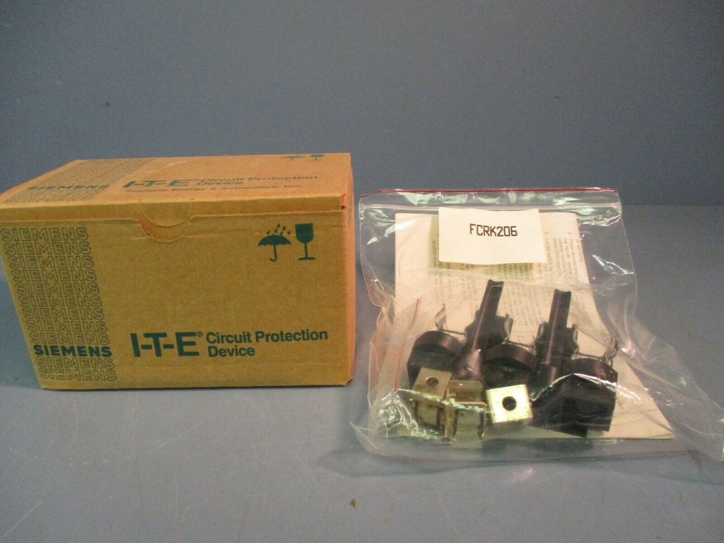 Siemens Fuse Kit FCRK206 30/60 AMPS 600/240 Volts NEW IN BOX