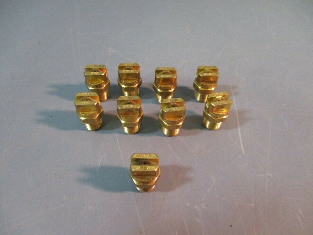 SPRAYING SYSTEMS CO Spray Nozzle H1/8VV-5002 NEW LOT OF 9