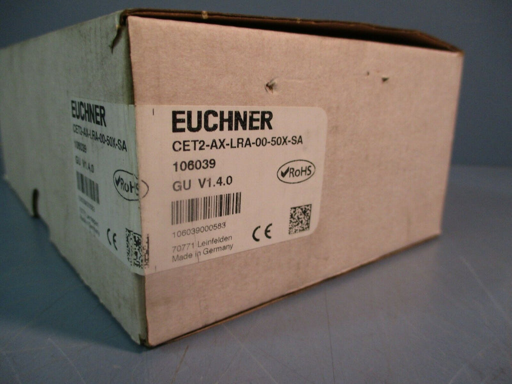 Euchner Safety Switch CET2-AX-LRA-00-50X-SA FACTORY SEALED