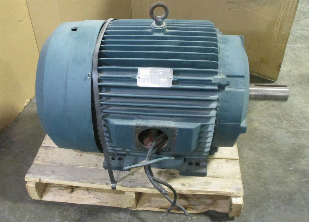 Reliance P36G3305N G2 RT 3 Phase Motor 460V, 75 Hp, 1780 RPM 365T Frame Used
