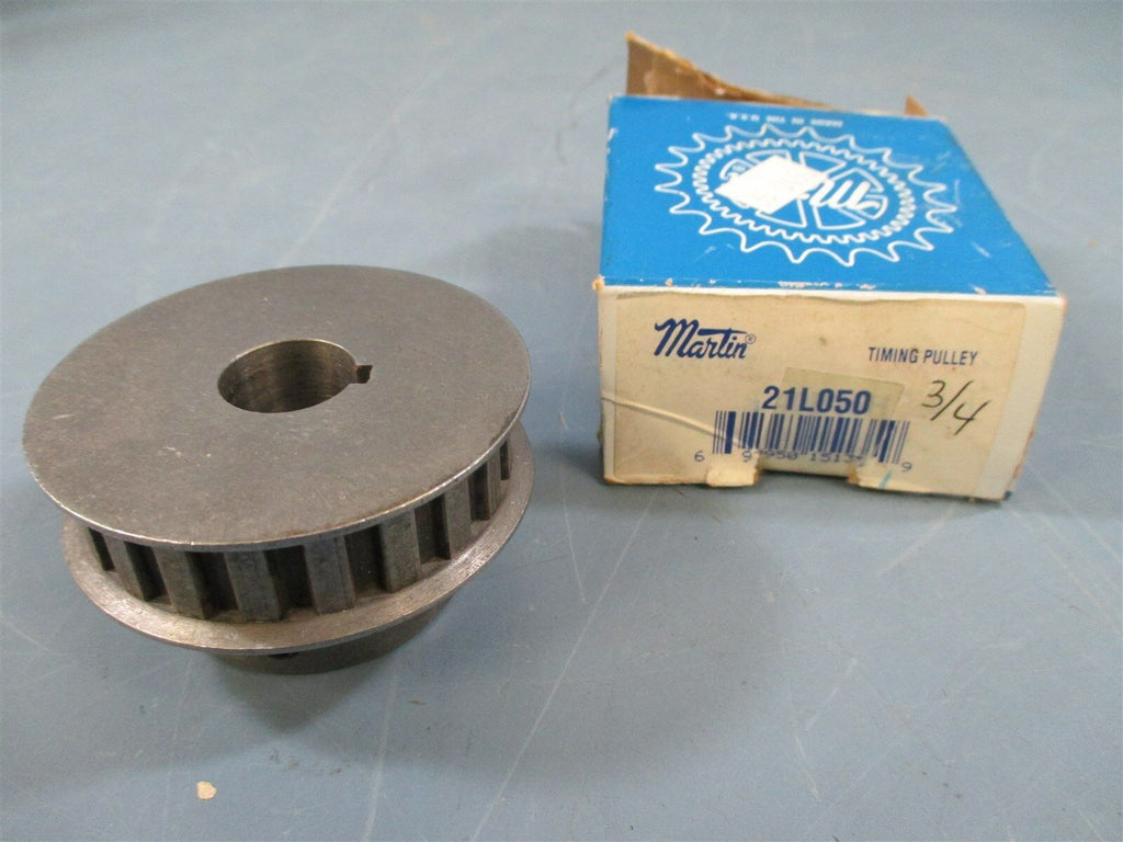 "Martin 21L050 3/4"" Bore Timing Pulley Sprocket - New"
