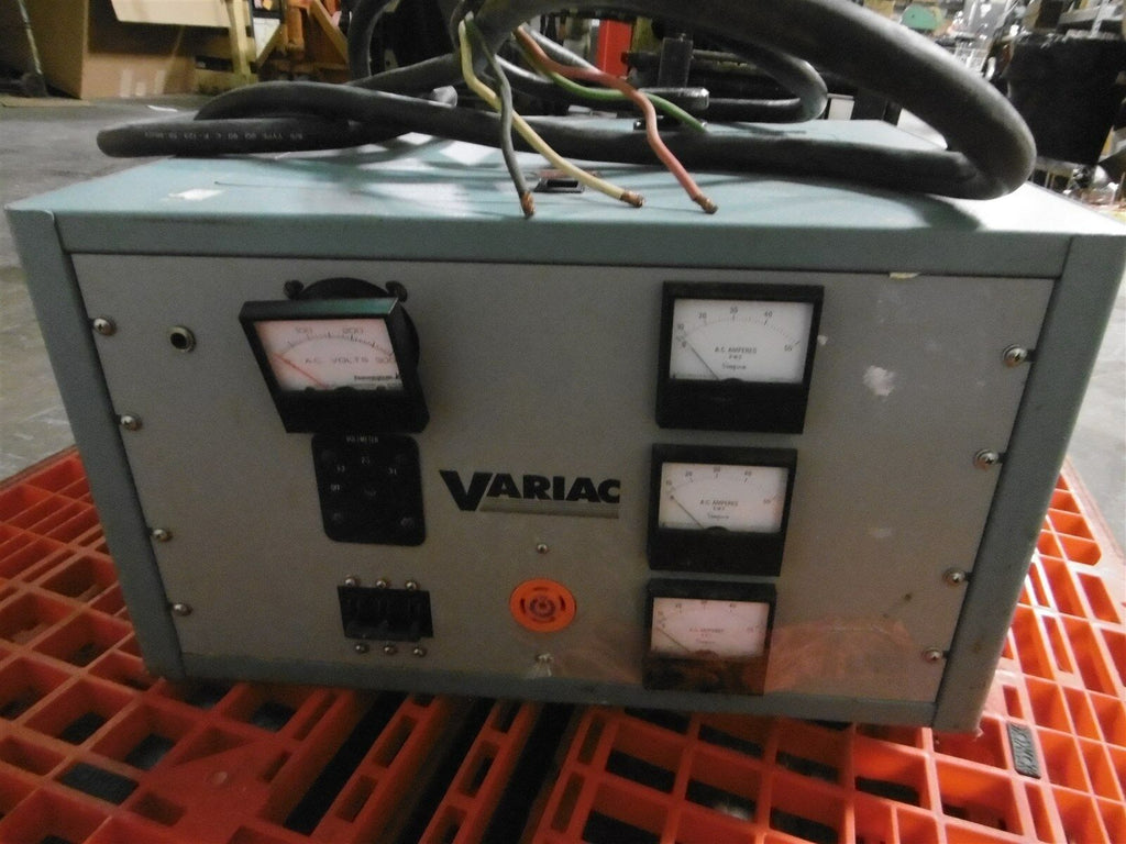 Used Technipower Variac 13850 Line Corrector 3090-9054 33A 3 Phase 60hz 120VAC