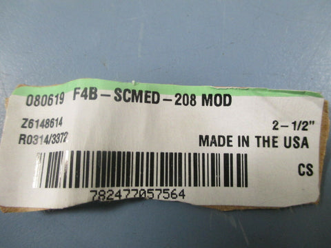 "Dodge F4B-SCMED-208 MOD 2-1/2"" 4 Bolt Flange Bearing - New"
