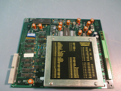HI-SPEED CHECKWEIGHTER PROCESSOR BOARD REV D P2-80-101