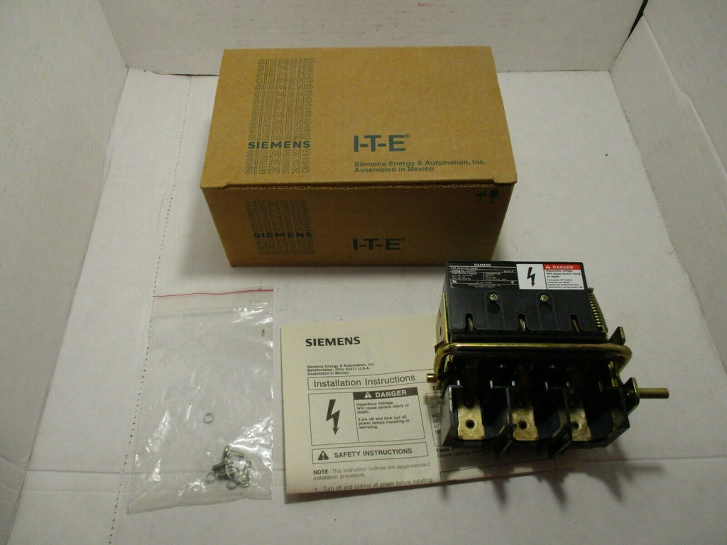 Siemens Disconnect Switch MCS603R Ser. A 30 AMP 600V NEW IN BOX